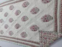 Hand Block Printed Jaipuri Quilts