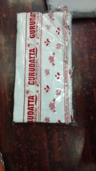 Plain White Cotton Turkey Towels, Rectangular, 250-350 GSM