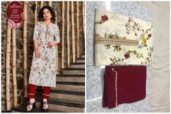 Cotton Embroidered Ladies Fancy Wear