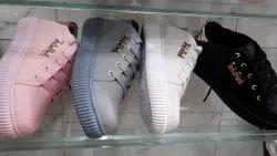 Napa material Daily wear Girls Stylish Shoe, Size: 6-11