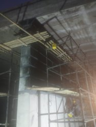 Black Structural Repairs Service Column Beam Wall Slab, 400gsm