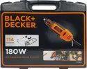 Black & Decker Rotary Tool Accessories with kit box RT18KA