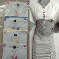 Regular Pevar Cotton Stylish Design Ladies Kurtis