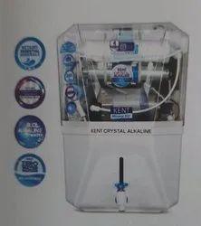 Kent Crystal Alkaline, RO + UV + UF + TDS Control