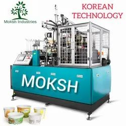 Automatic Single Phase Paper Cup Making Machine, 1000-2000 (cups Per Hour), 100-200 Ml