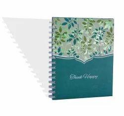 Designed Spiral Notebook