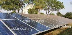 Anti Dusting, Anti Reflective Solar Panel Coating