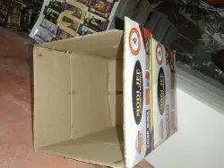 Single Wall 3 Ply Printed Corrugated Box
