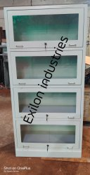 4 Door Bookcase