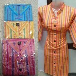 Fancy Pevar Cotton Stylish Ladies Kurti, Wash Care: Machine Wash
