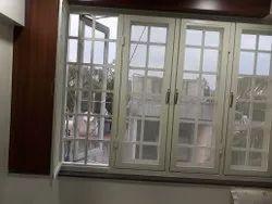 Samruddhi Aluminium White French window