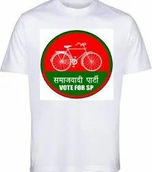 Election Campaign T-Shirt Samajwadi Party Election Printed T-Shirts