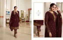 Long Salwar Zisha Suit, Size: Large