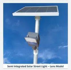 20W Lens Model Semi Integrated Solar Street Light
