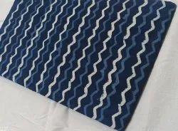 Hand block daabu print color ful fabric
