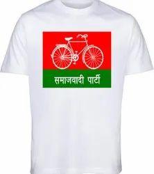 Election Campaign T-Shirt 120 GSM Samajwadi Party Election Campaign T-Shirt