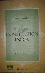 Durga Das Basu English The Constitution Of India Book