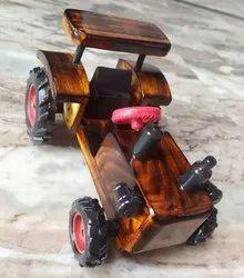 Wooden Tractor Toy Medeyam
