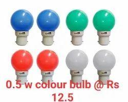0.5w Colour Led Bulb
