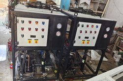 3Tr Air Cooled BPHE Online Oil Chiller