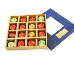 Fruit And Nut Round Rosemellow Blue Chocolate Box