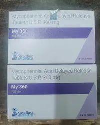 My 360  (mycophenolate Sodium ) Tablet