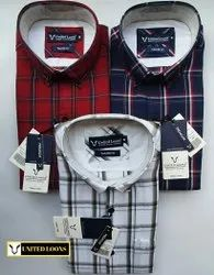 Men's Premium Checked Shirts