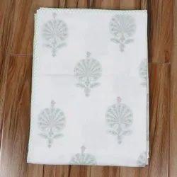Hand Block Printed Dohar Fabric