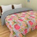 Digital Printed Kantha Bed Cover