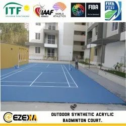 Synthetic Tennis Court Flooring Service