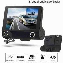 UNIVERSAL Black Car Dash Camera With 4inch Screen
