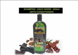 ALPEN-GLOW Herbal Shampoo - Amla, reetha, shikakai - 500ML