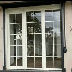 G I Material White Exterior French Doors, For Home