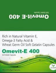PCD Franchise For Omega 3 Wheat Germ Oil Natural Vit E Softgel Capsules