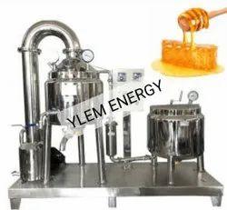 Honey Processing Plant With Moisture Reduction Unit