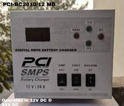 Digital 24V / 12V Smart SMPS Battery Charger, Output Current: 10 Ampere, Input Voltage: 230 V AC