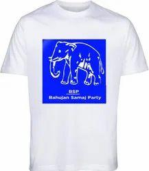 BSP Election Campaign Promotional T-Shirt 120 GSM Election T-Shirt