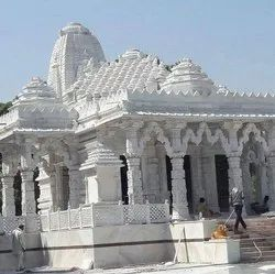 Outdoor White Marble Temple