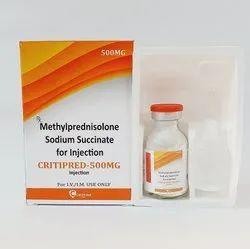 Methylprednisolone 500 Mg Injection