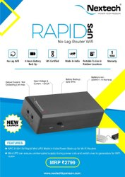Wifi Router Power Bank (Mini Ups)