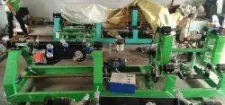 Mild Steel High Speed Rope Twisting Machine, 10kW, Capacity: 80kg/ Hour