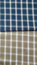 Veeceelon Check Shirting, 100% cotton,50/50s,Design No. - 717