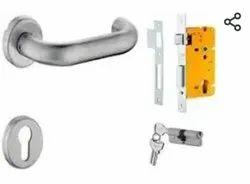 Lever Door D Handle Dorset, Stainless Steel, Size/Dimension: 8