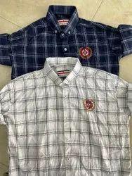 Checks Multicolor Menz Cotton Shirts, Machine Wash, Size:M-L-XL-XXL
