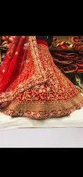 Heavy Embroidery Bridal Lehenga