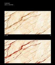Glossy Digital Designer Vitrified Tile, Thickness: 8 - 10 mm, Size: 600x1200 mm