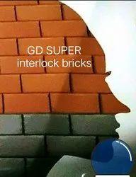Solid Bricks Interlocking Cement Wall Brick, For Side Walls,Partition Walls