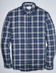 Cotton Mark Me Premium 2 Ply Checks Shirts, Check/Stripes