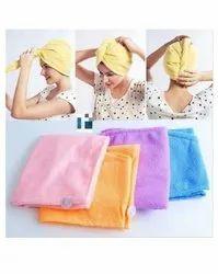 Hair Drying Absorbent Microfiber Towel