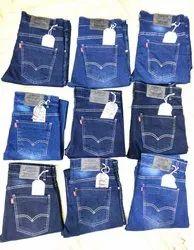 Men Blue Levi's Jeans Surplus